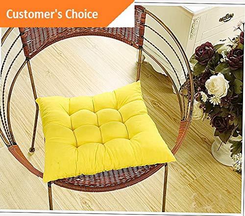 Werrox Indoor Outdoor Dining Garden Patio Soft Chair Seat Pad Cushion Home Decor 16x16 | Model CHRCSHN - 229 | ()