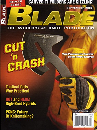 Custom Carved Blades (Blade Knife Magazine September 2007 Special: Carved TI Folders Are Sizzling)
