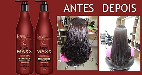 FOREVER LISS MAXX BRAZILIAN KERATIN TREATMENT KIT 2 X 1000ML by Forever Liss Professional (Image #3)