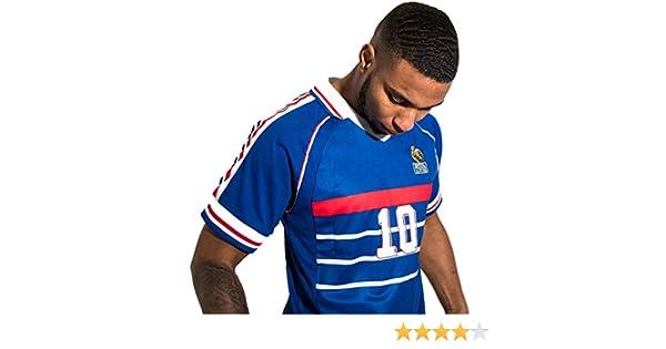 Direct Sport Camiseta Retro de la selecci/ón Francesa de Francia de f/útbol de 1998 r/éplica