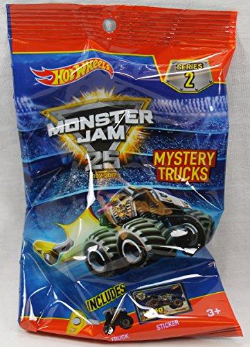 Hot Wheels Monster Jam Minis Truck Mystery Series 2 (1 Blind Bag)