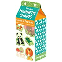 Animals of the World Wooden Magnetic Shapes