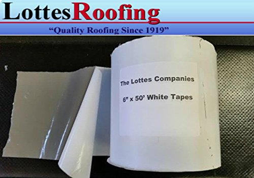 - FBA Roof and RV White Rubber Repair Tape 6