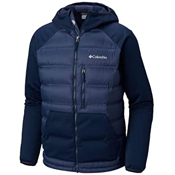 Hooded Jacket Columbia Navy Mens Ramble Collegiate Down Hybrid xx qOqIAZCxw