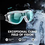 Mpow Safety Goggles with Clear, Anti Fog, Anti