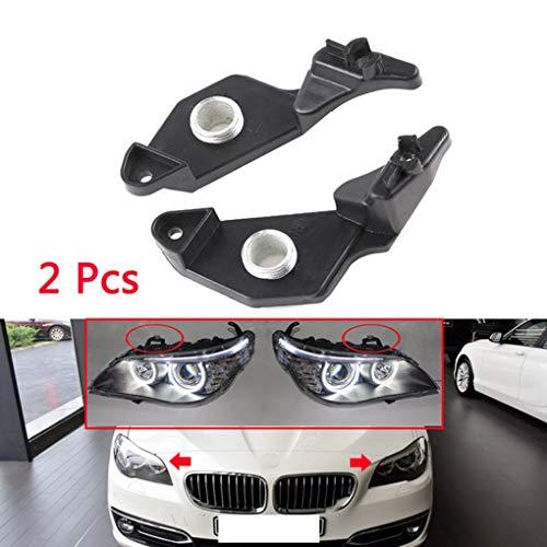 - Idyandyans 1 Pair Headlight Repair Bracket Clips Replacement for BMW E60 04-09 63126941478 63126942478