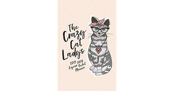 Amazon.com: The Crazy Cat Ladys 2019-2020 2-Year Pocket ...
