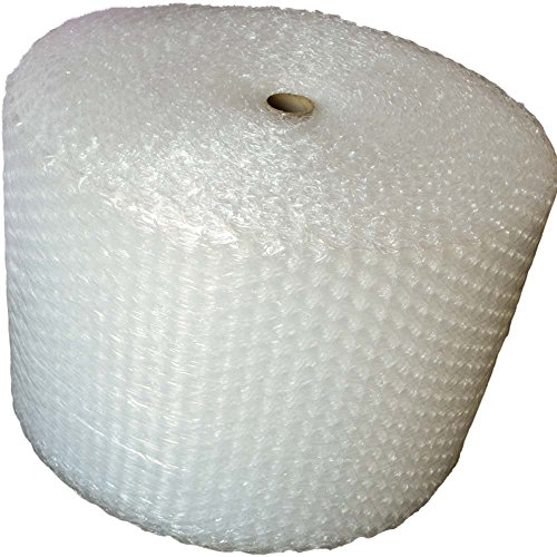 "50 Foot Bubble Cushioning Wrap, 1/2"" (Large) Bubbles, 12"" Wide, Perforated Every 12"" BASH Brand"