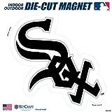 "Stockdale Chicago White Sox SD 12"" Logo MAGNET Die Cut Vinyl Auto Home Heavy Duty Baseball"
