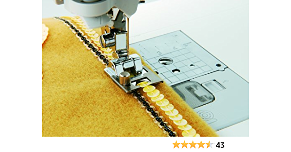 Cording Braiding Elastic Cord Ribbon Sequins Foot for Singer Sewing Machine