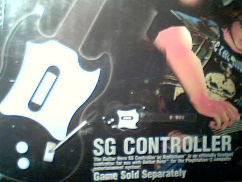 RedOctane Corporation Red Octane Wired Guitar Hero SG Controller Model No. PSLGH-SGB #SLUH 00092 (Sony Playstation 2 Version)