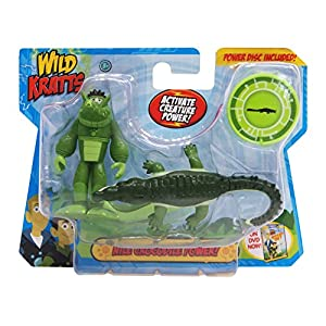 Wild Kratts Toys - 2 Pack Creature Power Action Figure Set - Nile Crocodile Power