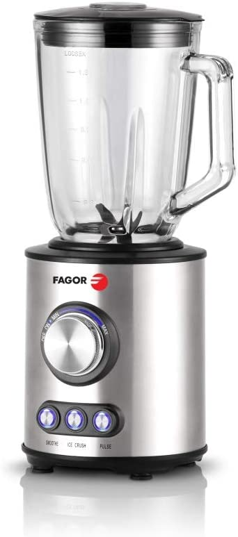 Fagor FG 609 licuadora acero inoxidable 1,5 L, 1000 W: Amazon.es ...