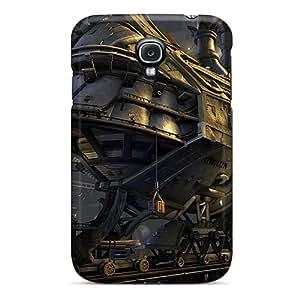 New Arrival Galaxy S4 Case Future Train Case Cover