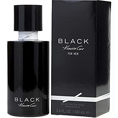 Black By Kenneth Cole For Women. Eau De Parfum Spray 3.4 Oz.