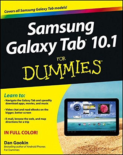 Price comparison product image Samsung Galaxy Tab 10.1 For Dummies