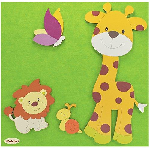 3 opinioni per Fabula Linea Foresta- Album Fotografico formato 30x30 cm- 30 fogli- Giraffa e