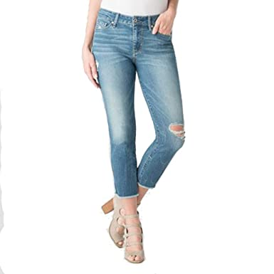 63cd3f867596 Women's High Rise Slim Crop Denizen Jeans - Medium Blue - (6 M) at ...
