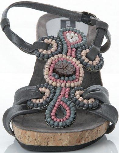 ILSE JACOBSEN Pumps Schuhe Sandalette Perlen ACQUA123 A123, Schuhe Damen:40