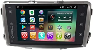 Android 8.1 IPS Car Radio GPS Player Navi for Toyota Hilux 2008-2014 Octa Core in Dash Multimedia Video Head Unit with Bluetooth WiFi Stereo Navigation (Android 8.1 4/64G Hilux 2008-2014)
