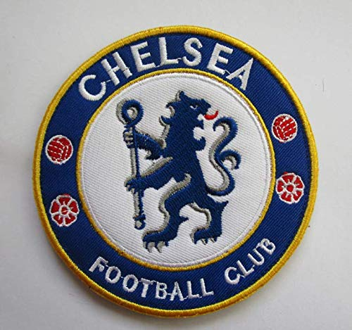 Chelsea Soccer Football Club Military Patch Fabric Embroidered Badges Patch Tactical Stickers for Clothes with Hook & Loop
