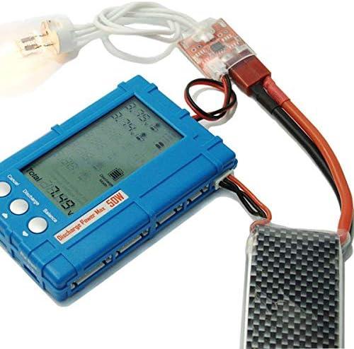 Targerthobby 3 IN1 50W Discharger Voltage Tester Balancer For Lipo Battery HOMEMART