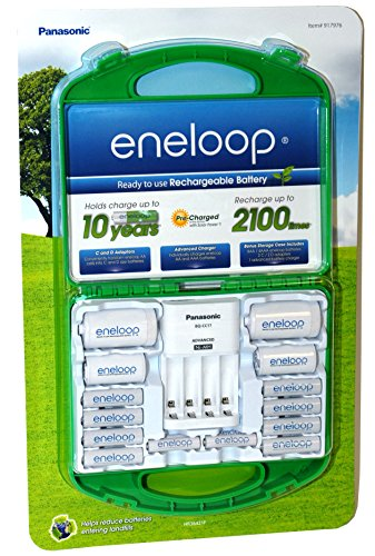 Cheap Panasonic Eneloop Rechargeable Batteries & Charger (917976)