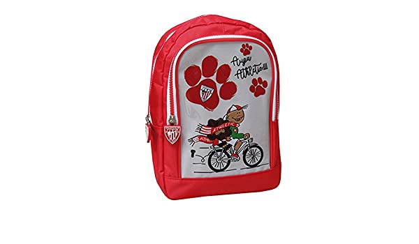 ATHLETIC CLUB DE BILBAO Mochila con bolsillo  Amazon.es  Equipaje 352e0762eacd2