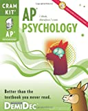 AP Psychology Cram Kit, DemiDec, 1936206145