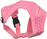 Puppia Dotty Harness A, Small, Pink