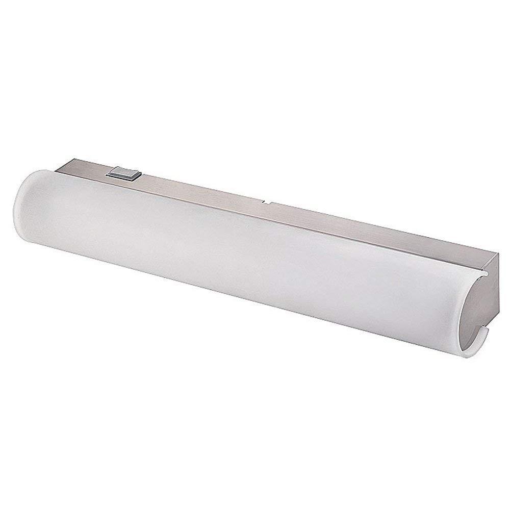 Oudan Badezimmer-Badezimmer-Wasserdichte Anti-Nebel schöne Spiegel-Scheinwerfer (Farbe  weißes weißes weißes Licht) (Farbe   Weiß Light, Größe   -) 505b95