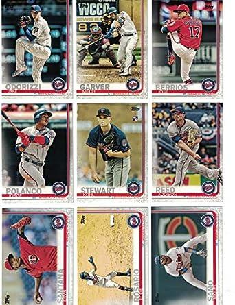 Minnesota Twinscomplete 2019 Topps Series 1 Baseball Team