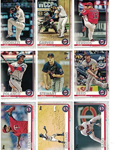 Minnesota Twins/Complete 2019 Topps Series 1 Baseball Team Set! (11 Cards) Includes 25 bonus Twins Cards! ()