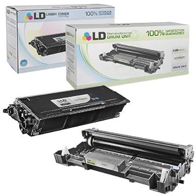 LD Compatible Brother TN650 Black Laser Toner Cartridge and DR620 Drum Unit Cartridge