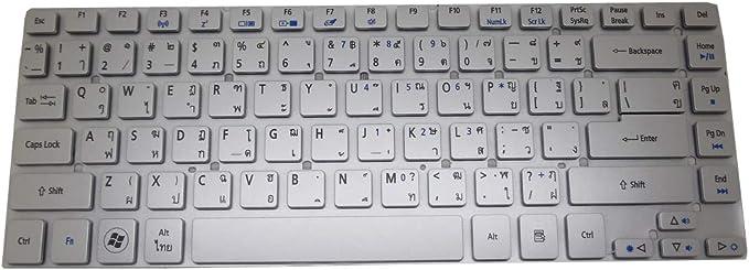 Laptop Keyboard for Acer Aspire V3-431 V3-471 V3-471G V121646CK4 CR AEZQS201110 NK.I141S.012 Slovenian SL Silver NO Frame