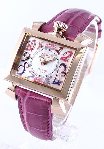 (ガガミラノ)GAGA MILANO ガガミラノ 腕時計 ナポレオーネ 40mm 18金 PVD ローズ マルチ 6031.1 レディース ユニセックスサイズ クオーツ ホワイトシェル 腕時計 [並行輸入品] B00F9RIVCI