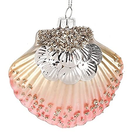 51ckxtuJ0pL._SS450_ Seashell Christmas Ornaments
