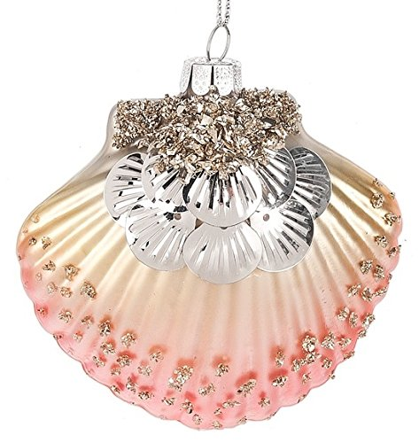 51ckxtuJ0pL Amazing Seashell Christmas Ornaments