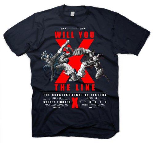 Gaya Entertainment - Super Street Fighter X Tekken T-Shirt Cross The Line (S)