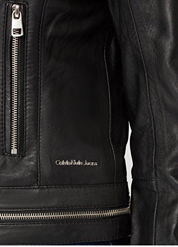 Black Klein Noir 099 Femme Leather Omega Biker Ck Cape Calvin 8xRnZnB