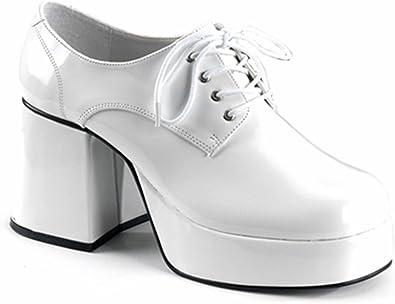 70er Jahre Plateau Schuhe für Herren