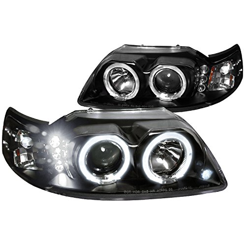 99 mustang halo headlights - 4