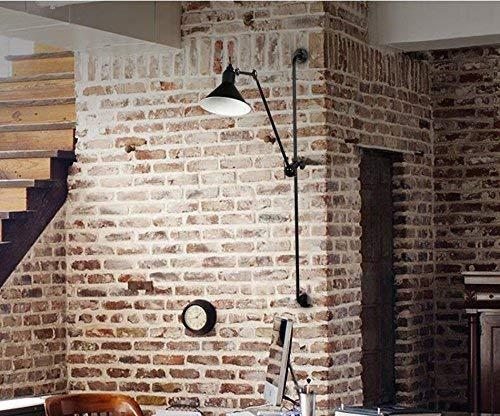 XINXI Home Retro Balkon Lichter Lichter Lichter Farbe Mechanische Arm Lichter Einzigen Kopf E14 Spirale Mund 146 cm Kreative Viele Richtung Wandleuchte, Loft Industrielle Wind B07Q9Y514R | Vollständige Spezifikation  1494c5