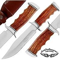 Best.Buy.Damascus1 Rose Wood 12 Custom Handmade D2 Steel...