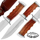 Best.Buy.Damascus1 Rose Wood 12″Superb Quality Custom Handmade D2 Steel Hunting knife With Brass Bolster Unique File Work Blade Back Edge & Bloster On it A piece of Craftsmanship100% Prime Quality Review