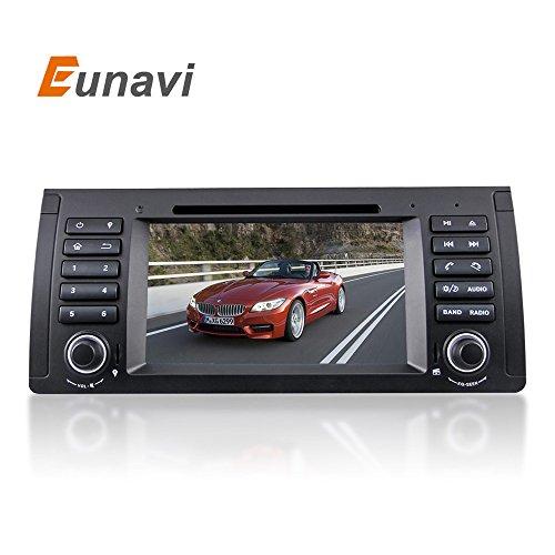 Eunavi 7 Inch Car DVD Player For BMW/E39/X5/M5/E38/E53 Canbu