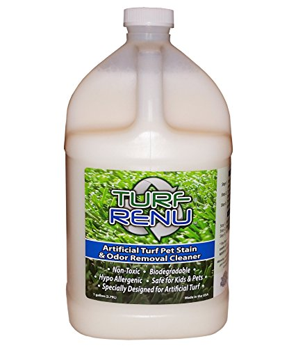 Turf Renu Tr10101 Bio Enzymatic Cleaning Solution For Synthetic Artificial Turf And Pet Odor Control  1 Gallon