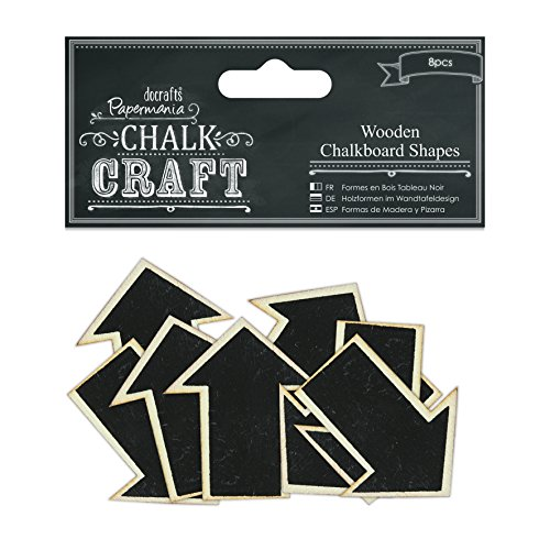 docrafts Arrows Chalk Craft Wooden Chalkboard Shapes