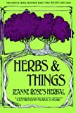 Herbs and Things, Jeanne Rose, 0867197692