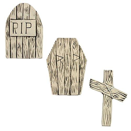 Gravestones For Halloween (Halloween Haunters 21